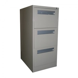 Compact 3 Drawer Filing Cabinet